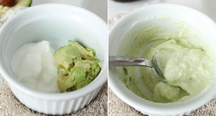 Mascarillas para el pelo casera: huevo, aceite de oliva virgen, mayonesa y aguacate